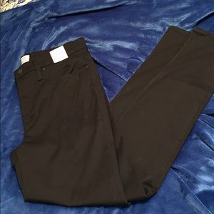 Jcrew high-rise toothpick black jeans 32 tall